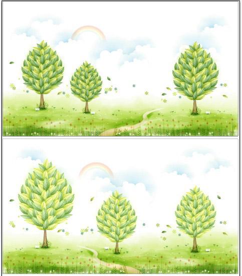 树木图片说明名称