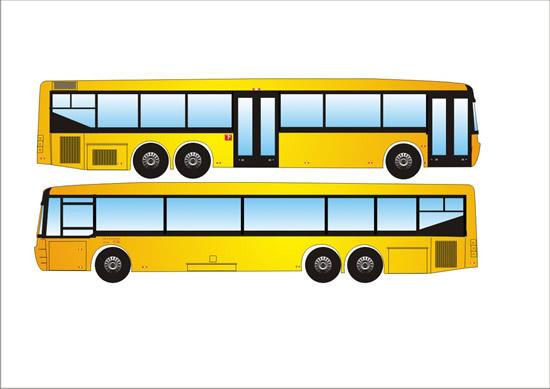 黄色公交车