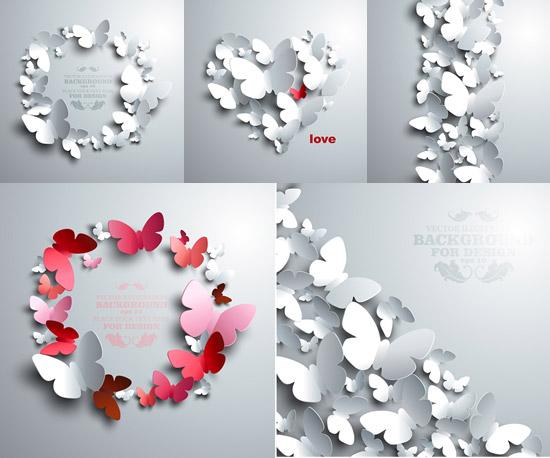 白色欧式花纹背景