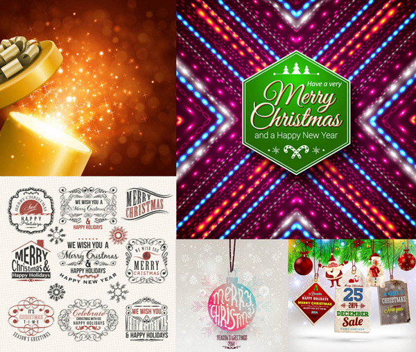 璀璨星光与边框吊球等矢量素材免费下载,矢量素材,矢量图,新年素材,MerryChristmas,圣诞节,边框,花边,星光,璀璨,炫彩,炫丽,图案,装饰,圣诞老人,吊饰,饰品,饰物圣诞球,挂球,吊球,礼物盒,礼品,礼盒,