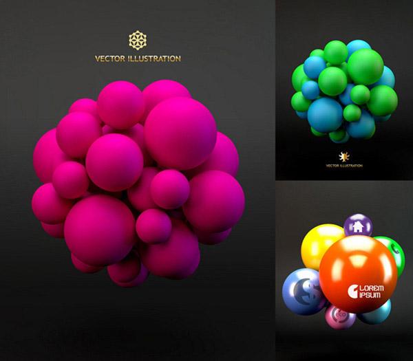 3d球体装饰