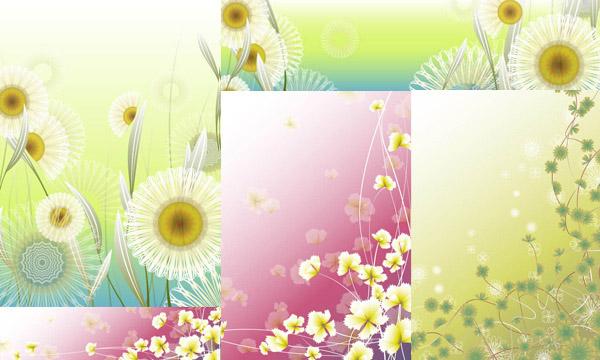 素材分类: 矢量背景所需点数: 0 点 关键词: 花朵藤蔓植物图案背景