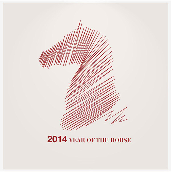 创意,喜庆,矢量图,日历封面,2014马年,抽象,形象,马,广告设计,ai 下载图片