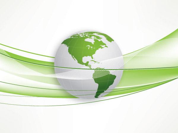 素材分类: 矢量科技所需点数: 0 点 关键词: 清新地球线条背景矢量