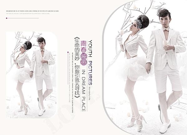 婚纱写真古装相册