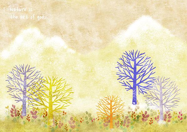 可爱日记手绘插画