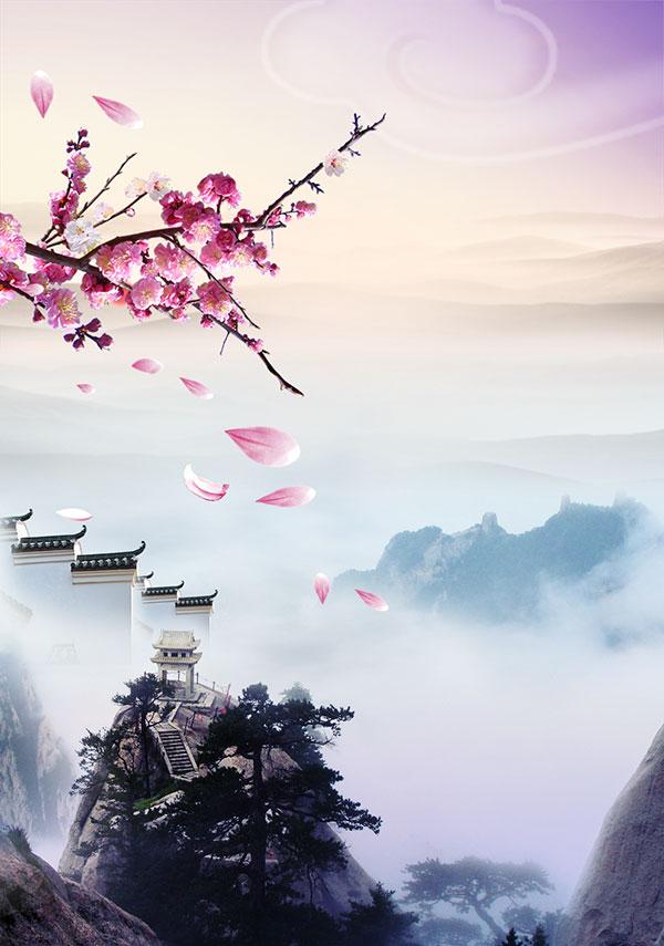 中国风唯美风景