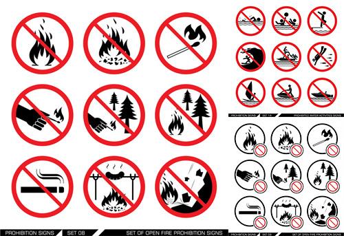 火险安全标志