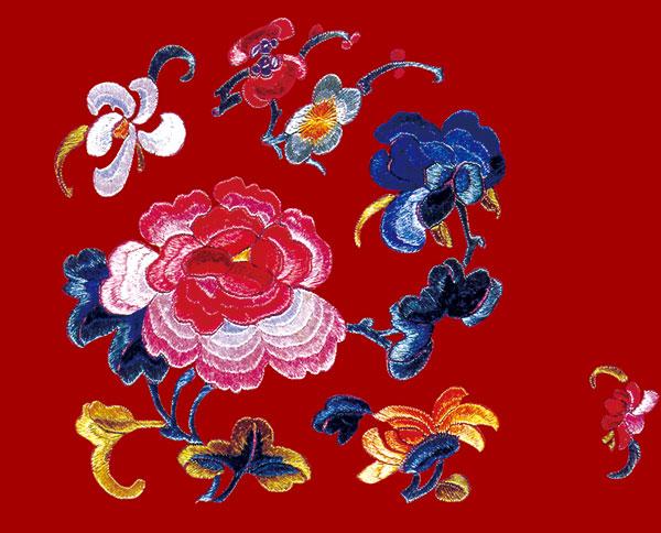 中国传统刺绣
