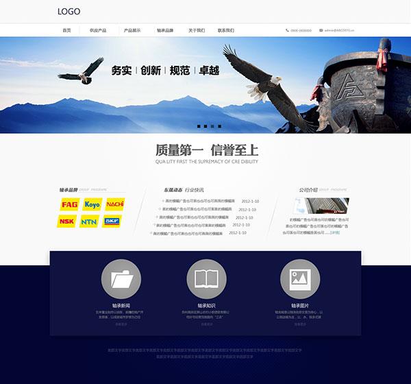 网页模板,网页设计,网页排版,网页背景,蓝色企业网站,企业文化,蓝色科