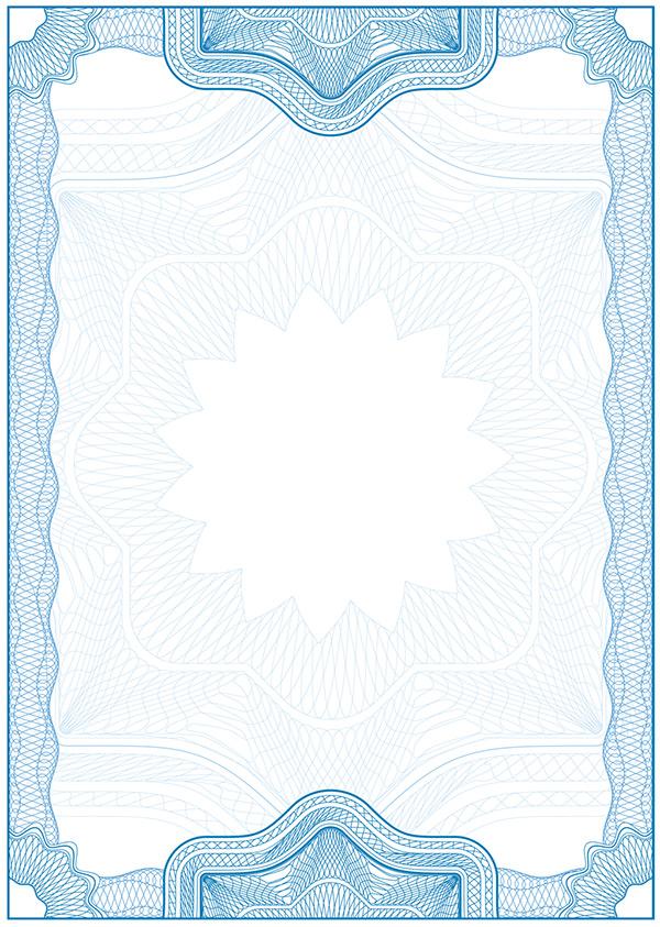 欧式证书模板图片