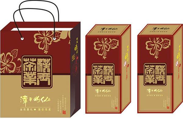 矢量包装设计所需点数: 0 点 关键词: 白酒盒手提袋包装设计模板cdr图片