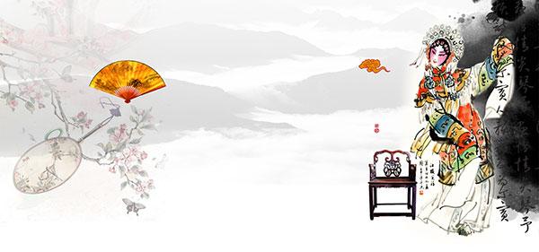 国粹文化,京剧人物,手绘京剧人物,水墨素材,水墨图片,中国风水墨背景