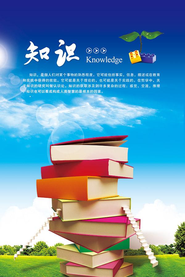校园文化知识海报
