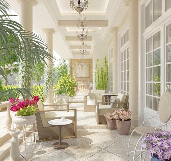 素材分类: 室内效果所需点数: 0 点 关键词: 花园长廊模型下载,花园
