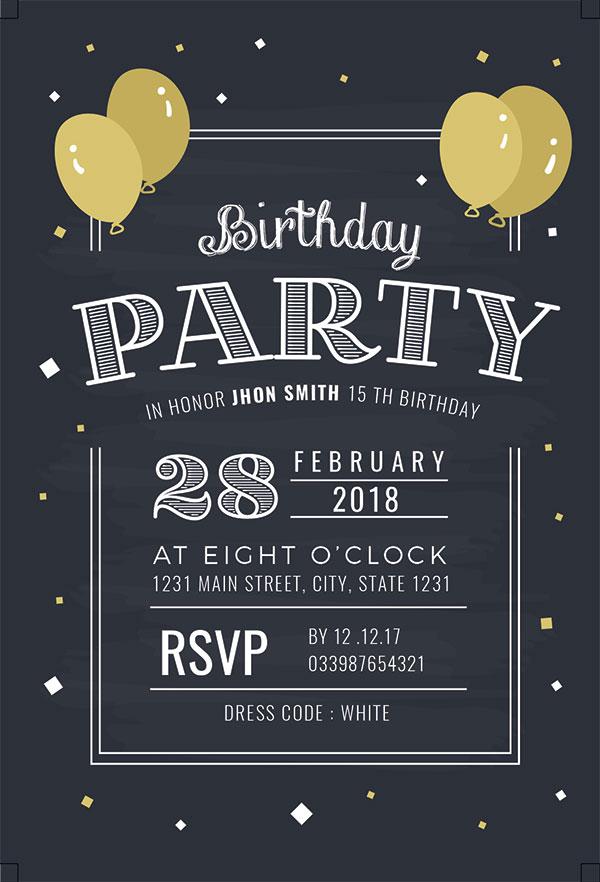 生日宴会派对