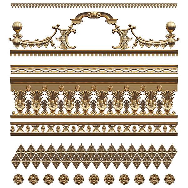 素材分类: 花纹边框所需点数: 0 点 关键词: 欧式家居建材装饰边框