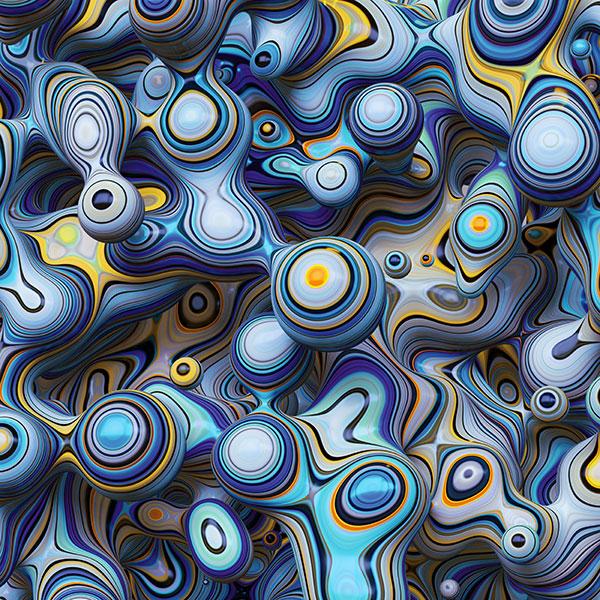 3D抽象立体背景