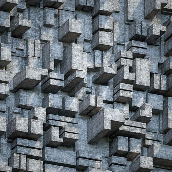 3D立体方块背景