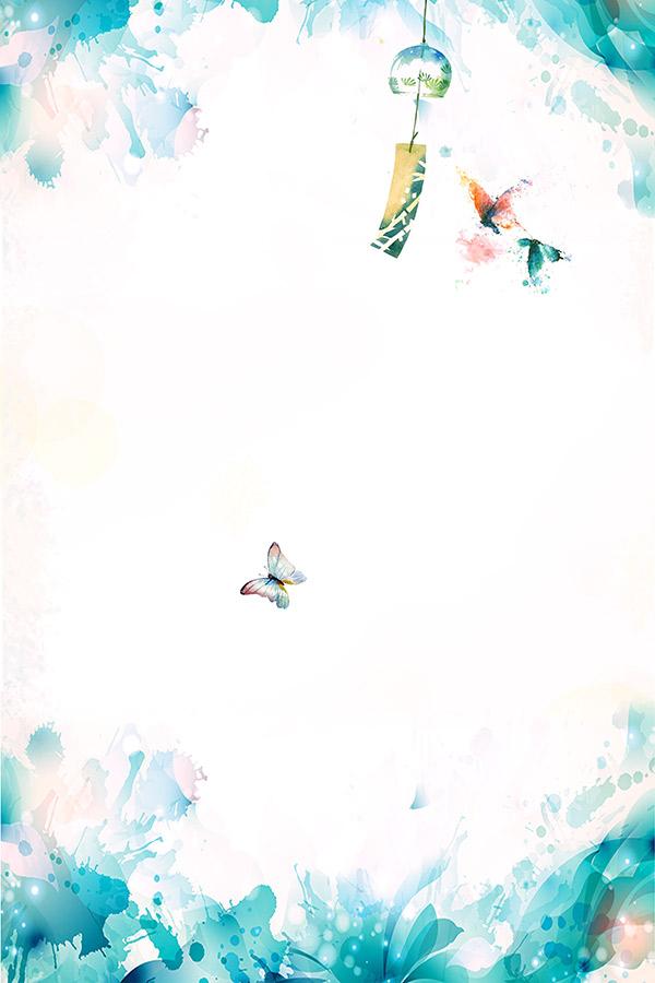 素材分类: 背景底纹所需点数: 0 点 关键词: 清新水彩春季主题背景