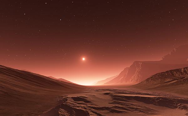 外星球风景图片