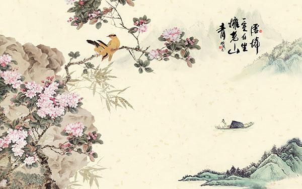 素材分类: 绘画艺术所需点数: 0 点 关键词: 唯美复古中国风装饰画图片