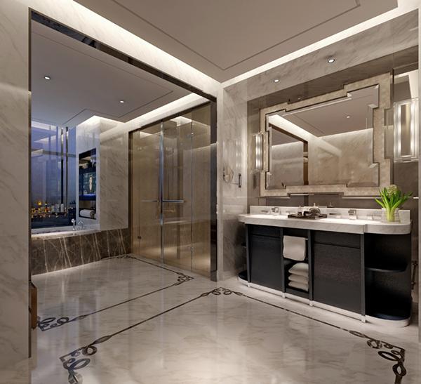 浴室空间3D模型