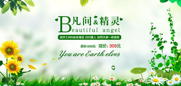 淘宝绿色广告