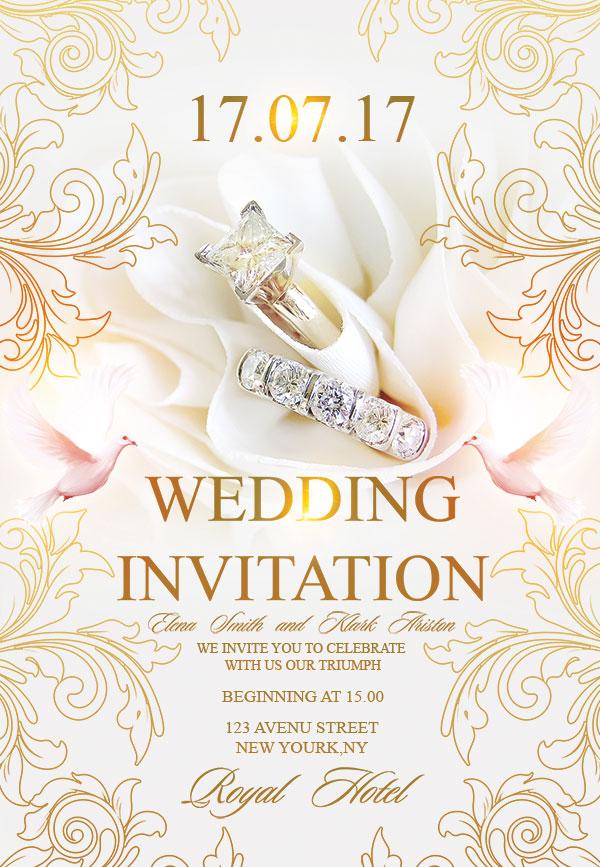 婚礼,婚礼海报,珠宝海报,欧式花纹,高档高档,海报设计,宣传海报,戒指