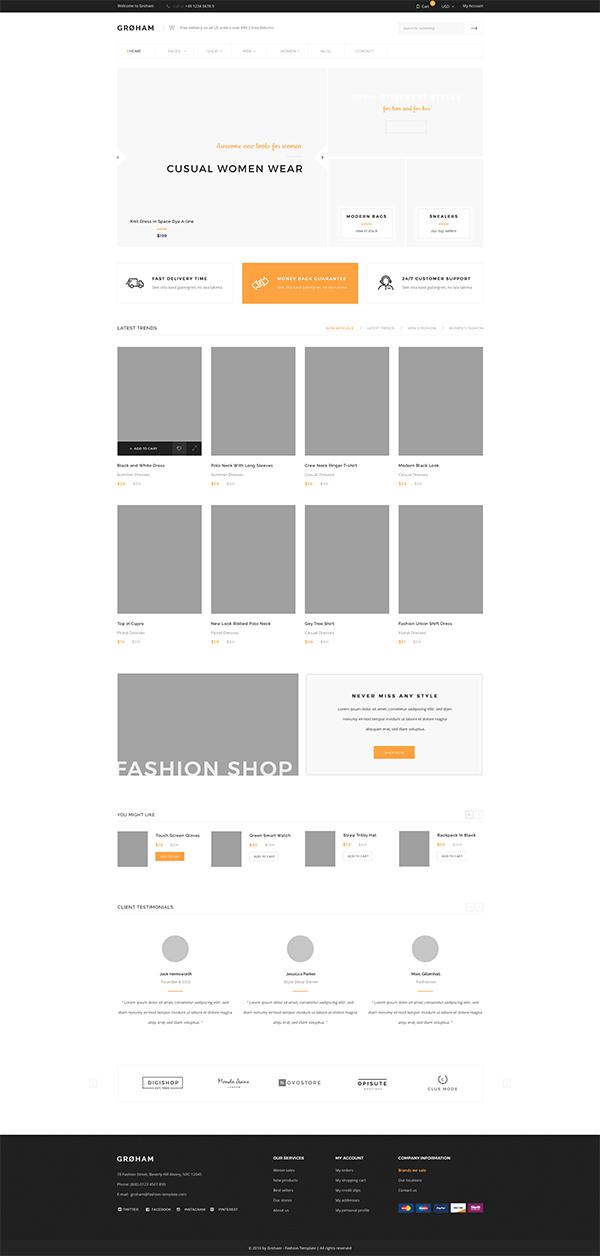 页面psd分层素材,网页设计模板,网页界面设计,网页版式设计,网页布局