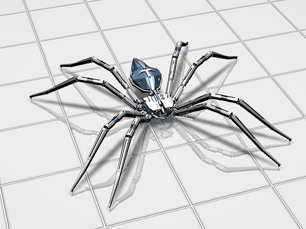 机械蜘蛛模型