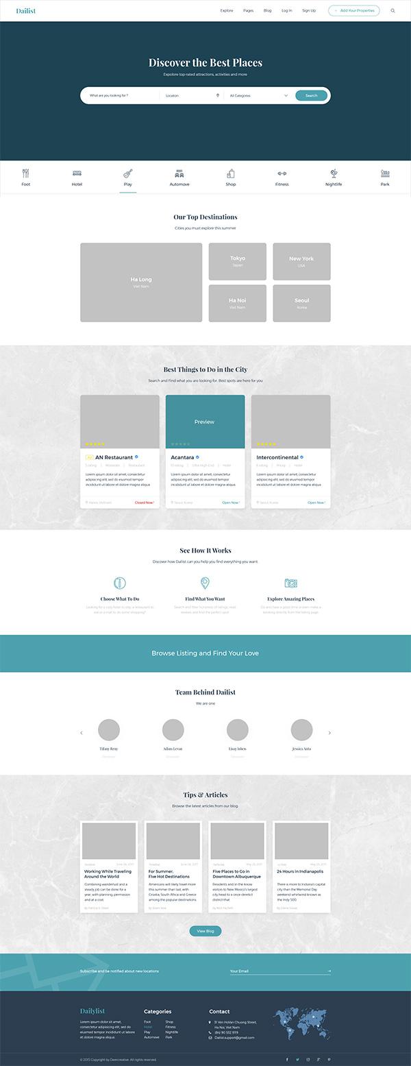企业网站整套模板