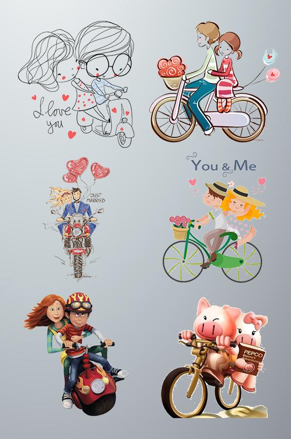 浪漫情人节元素