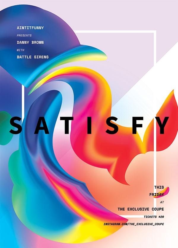 0 点 关键词: 欧美流线创意抽象海报,几何,抽象,色块,配色,创意设计