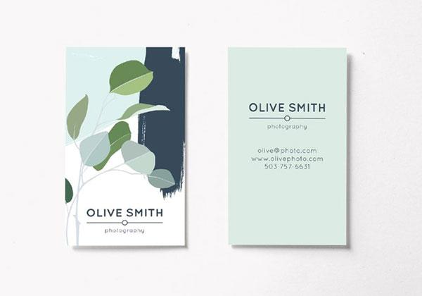 请柬卡片所需点数: 0 点 关键词: 简约创意大气名片模板设计,小清新