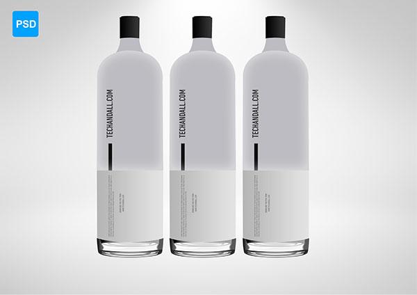 瓶子包装样机