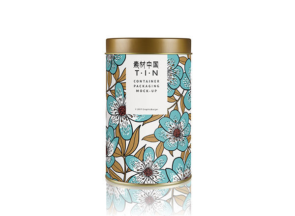 茶叶罐包装样机