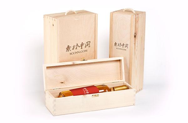红酒包装盒样机