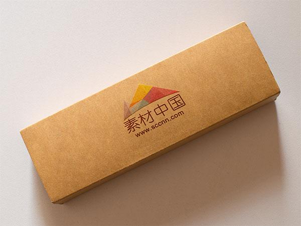 纸盒子logo样机