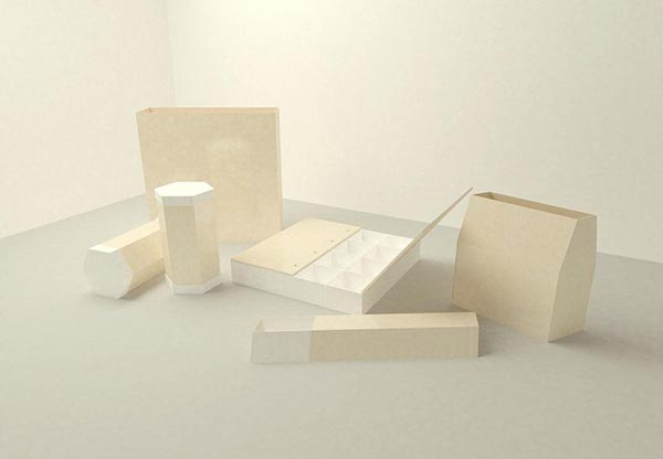包装模型模板