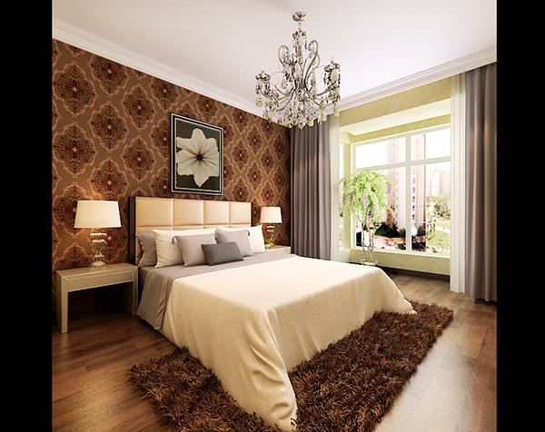 胡桃地板素材,水晶吊灯模型设计,床头墙纸素材,地毯模型,欧式饰品3d