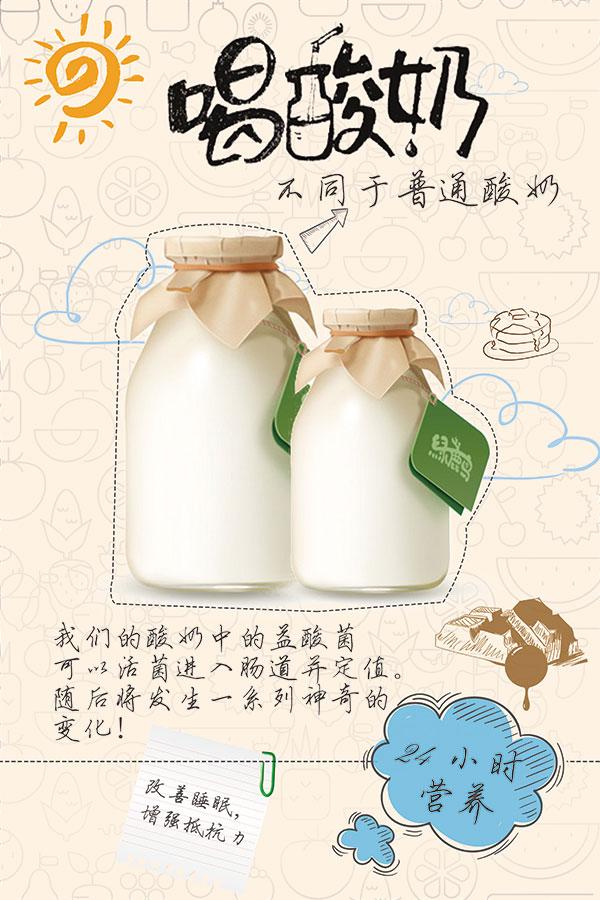 0 点 关键词: 清新简约酸奶海报,有机酸奶,海报,展板,手工酸奶,自制
