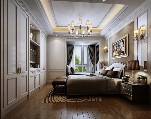 简约欧式卧室模型