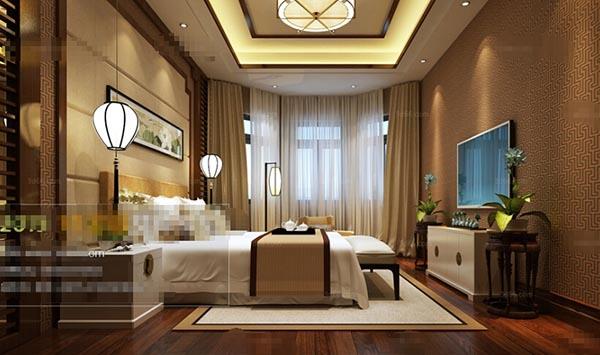 古典风格卧室模型