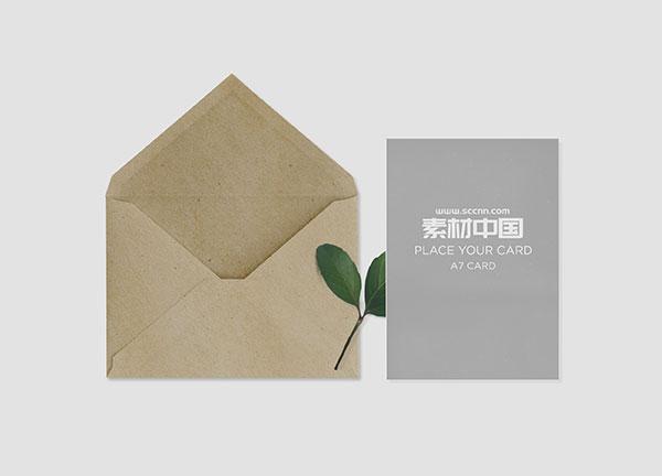 素材分类: cis设计所需点数: 0 点 关键词: 牛皮纸信封样机,牛皮纸