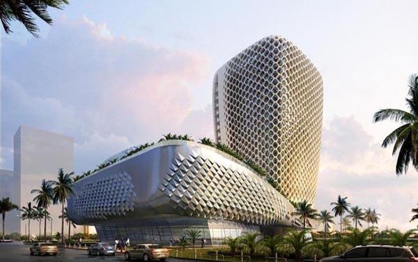 异形公共建筑模型