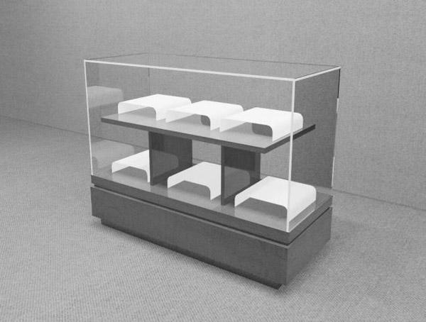 展柜柜台模型