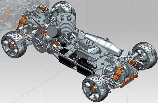 3D机械模型