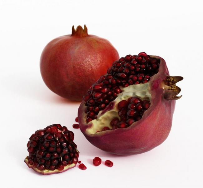 石榴水果模型