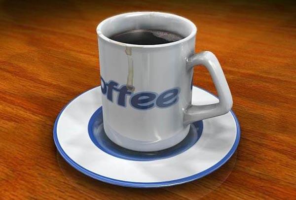 咖啡杯模型